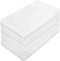 Euro Cafe Waffle Weave Terry Kitchen Towels By Cotton Craft-