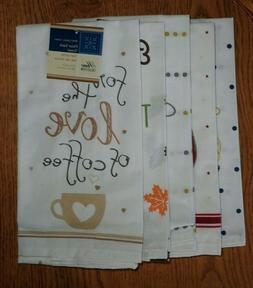Cotton  Kitchen Towels - Set of 6