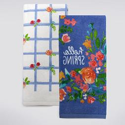 Celebrate Spring - 100% Cotton Kitchen or Bathroom Hand Towe