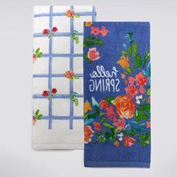 Celebrate Spring - 100% Cotton Kitchen or Bathroom Hand Towe