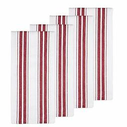 cotton kitchen dish towels 4 pack 27