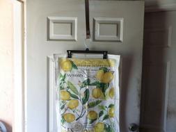 Michel Design Works Cotton Kitchen Tea Towel - Lemon Basil w