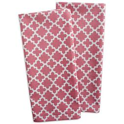 DII Cotton Lattice Dish Towels with Hanging Loop, 18 X 28 Se