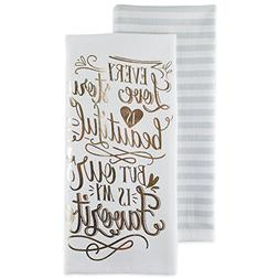 DII Cotton Love Story Dish Towels  Perfect Wedding, Housewar