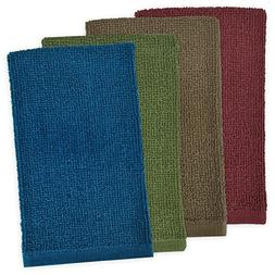 DII Kitchen Bar Mop Cleaning Terrycloth Towels  Pure Cotton,