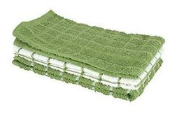 Ritz 100% Cotton Terry Kitchen Dish Towels Highly Absorbent
