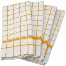 "Didi's Kitchen 100% Cotton Kitchen Terry Towels 18 x 28"" 4/p"
