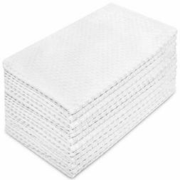 Craft 12 Pack Euro Cafe Waffle Weave Terry Kitchen Towels 16