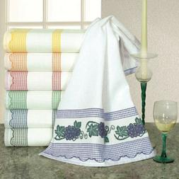 cross stitch kitchen towels madagascar 6 colors