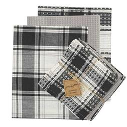 Crossroads Dish Towel Cloth Set Country Plaid Farmhouse Kitc