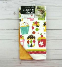 Ritz Cupcake Party 2-pack Kitchen Towels