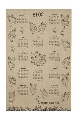 Ulster Weavers Dawn Critchley Free Range Calendar Linen Mix