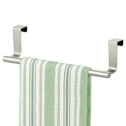 mDesign Decorative Kitchen Over Cabinet Towel Bar - Hang on