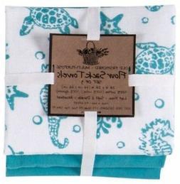 Kay Dee Designs A8361 Sea Life Flour Sack Towels