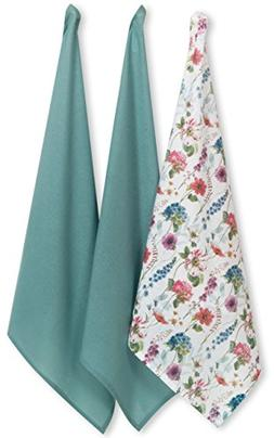 Kay Dee Designs Butterfly Garden Flour Sack Towels, Set of 3