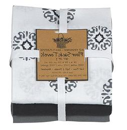 Kay Dee Designs Café Express Collection Medallion Flour Sac