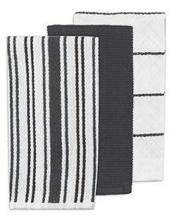 Kay Dee Designs Multi Weave Kitchen Towels , Charcoal