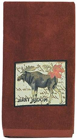 Kay Dee Designs R0758 Wilderness Trail Moose Applique Terry