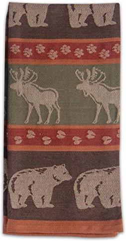 Kay Dee Designs R2103 Moose & Bear Jacquard Tea Towel