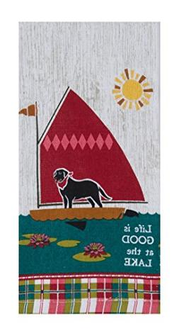 Kay Dee Designs R3013 Life Is Good at The Lake Terry Towel