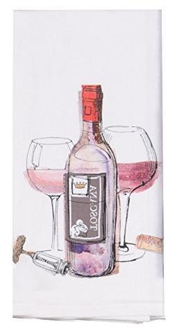 Kay Dee Designs R3183 Choice Wine Flour Sack Towel