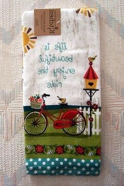 Kay Dee Designs Enjoy The Ride Bicycle Terry Towel