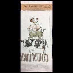 Kay Dee Designs R3253 Farm Life Flour Sack Towel