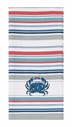Kay Dee Designs R3298 Beach House Inspirations Crab Embroide