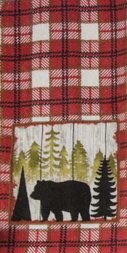 Kay Dee Designs R3310 Simple Living Bear Terry Towel