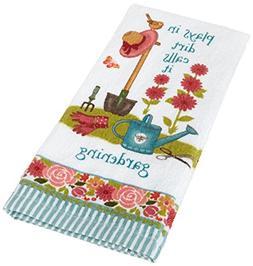 Kay Dee Designs R3320 Plays In Dirt Gardening Terry Towel