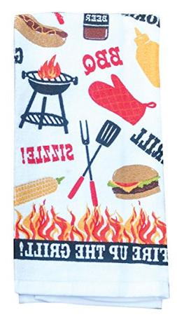 Kay Dee Designs R3710 Summer Grill Terry Towel