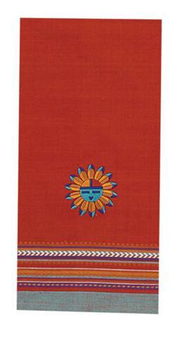 Kay Dee Designs F0618 Southwest Sun Embroidered Tea Towel