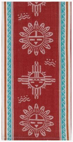 Kay Dee Designs V4197 Southwest Sun Jacquard Tea Towel
