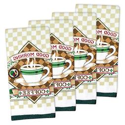 Home Essentials ESSENTAL TERRY COFFEE DT S/4