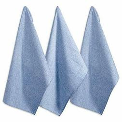 dii cotton chambray dish towel 20x30 set monogrammable overs