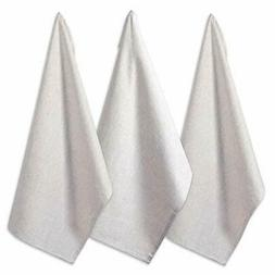 "DII Cotton Chambray Dish Towel, 20x30"" Set of 3, Monogrammab"