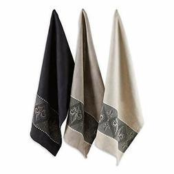 dii cotton jacquard dish towels 20x28 set decorative tea eve