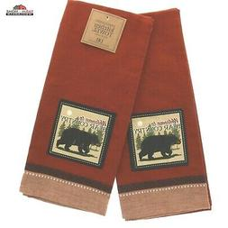 DII Design Imports Lake House Kitchen Dish Towels Set of 3 ~ Lake Theme
