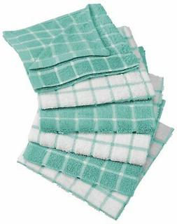 Dish Cloths Kitchen Cotton Machine Washable Absorbant Terry