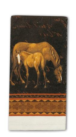 DISH TOWEL - Mare & Foal Terry Towel - Dishcloth - Tea Towel