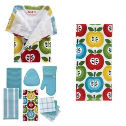 Dish Towel Kitchen Dishcloth Apples Design Table Linens Cott