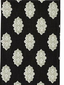 Park Designs Kitchen Two Towels: Black Medallion & Black Pol