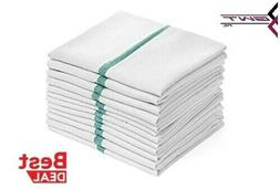 dish towels 12 pack absorbent white cotton