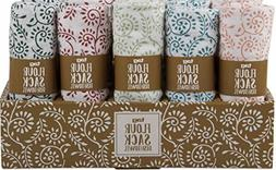 tag Dish Towels Flour Sack Kitchen Towels Set Bundle of 5 Ra