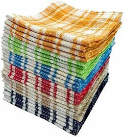 Dish Cloth 24 Pcs 12x12 100% Cotton Dish Towel Swedish Dishc