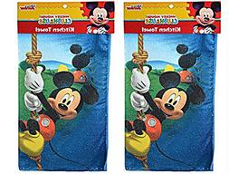 Disney Mickey or Minnie Mouse Kitchen Hand Towel