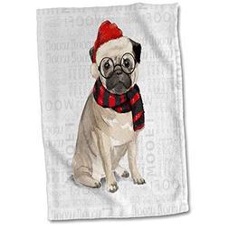 3dRose Doreen Erhardt Christmas Collection - Funny Dog Lover