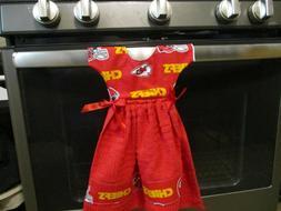 Dress Shape Kitchen Towel
