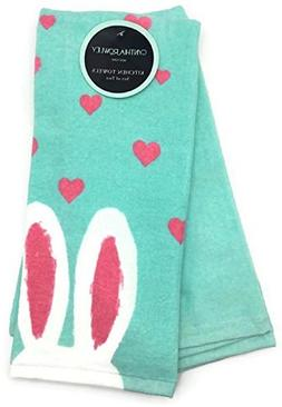 Cynthia Rowley Easter Bunny Ears Kitchen Towel Set