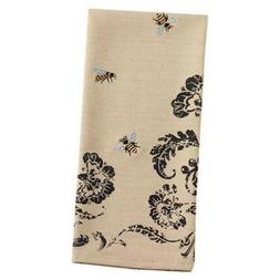 Embroidered Bumble Bee Kitchen Towel